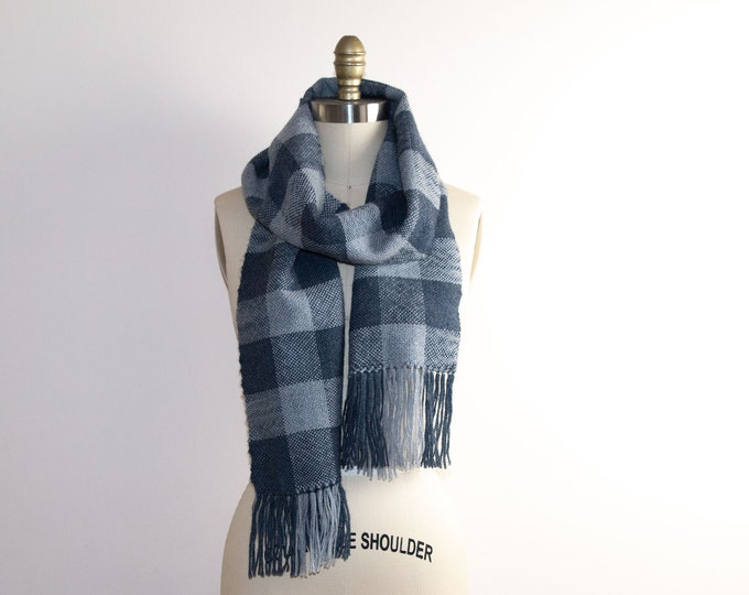 "Rigid Heddle ""Buffalo Check"" Scarf Kit"