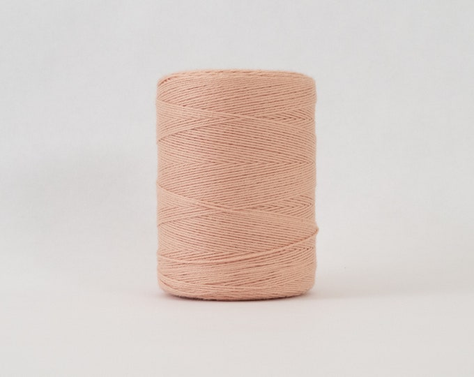 Peach Cotton Warp Thread for Weaving