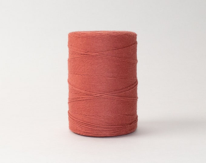 Terracotta Cotton Warp Thread for Weaving