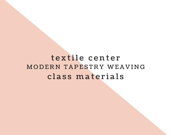 Textile Center Materials