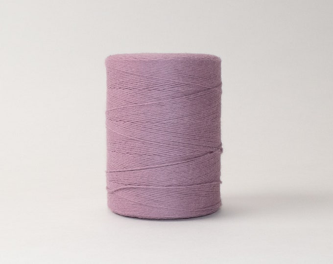 Lilac Cotton Warp Thread for Weaving