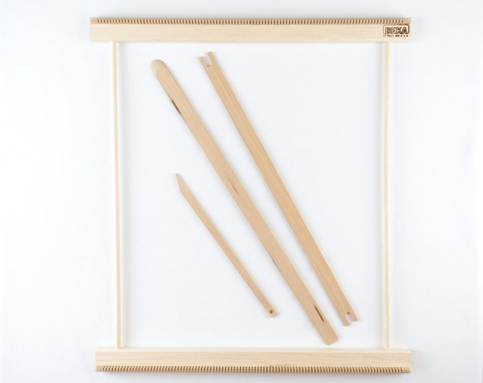 "20"" Weaving Frame Loom - Make your own woven wall hanging!"
