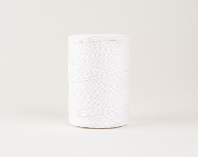 White Cotton Warp Thread for Weaving