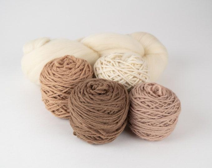 AU NATURAL - Weaving Yarn Pack