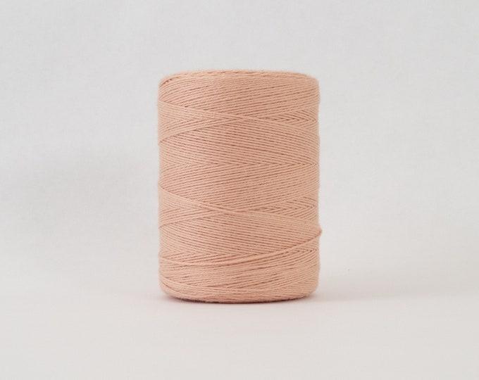 Peach Cotton Warp Thread for Weaving
