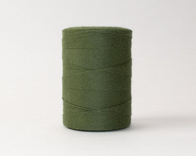 Cypress Green Cotton Warp Thread for Weaving