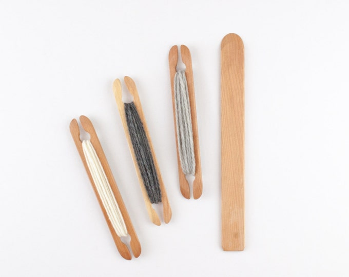 """8"""" Shuttle and 12"""" Weaving Pickup Stick Combination Pack"""