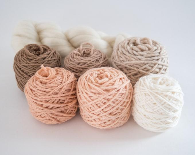 Weaving Yarn Pack - Peachy Keen