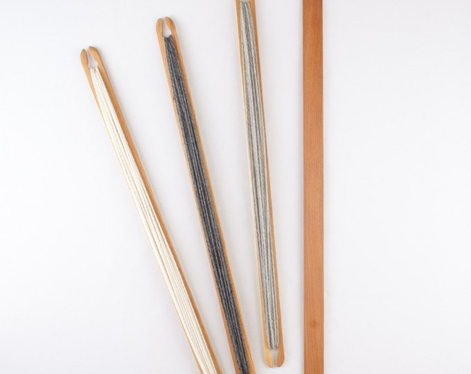 """25"""" Stick Shuttle and 27"""" Weaving Pickup Stick and Shuttle Combination Pack"""