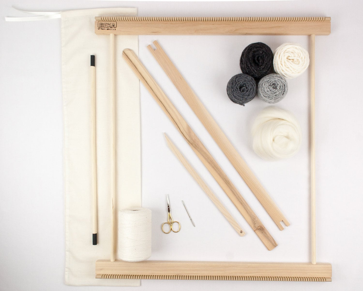 20 Frame Loom Weaving Kit / Everything you need to make your own ...