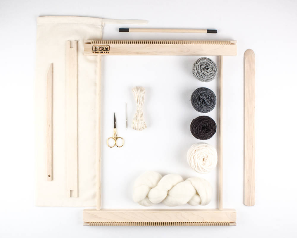 14 Frame Loom Weaving Kit / Everything you need to make your own ...