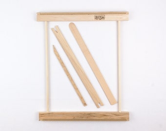 """14"""" Weaving Frame Loom - Make your own woven wall hanging!"""