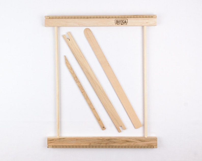 14 Weaving Frame Loom  Make your own woven wall image 0