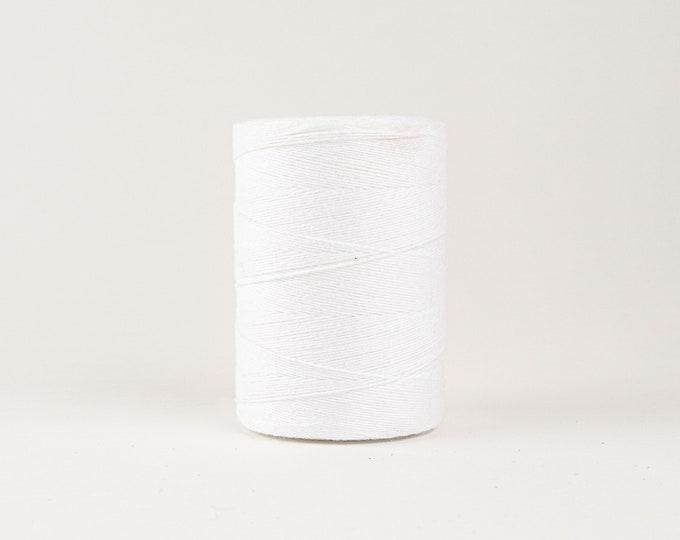White Cotton Warp Thread for Weaving