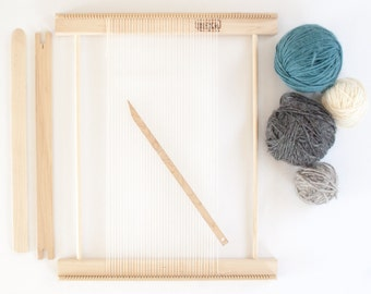 "Weaving Frame Loom 14"" - Make your own woven wall hanging!"
