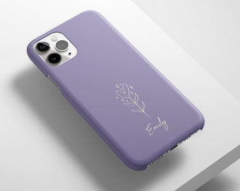 Personalised Matte Case For iPhone, Samsung, Google Pixel - iPhone 12, iPhone 11, iPhone XR, SE, Samsung S21, S20, S10, Pixel 5, Pixel 4