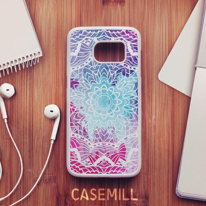 Mandala Case For Samsung Galaxy S8 Mandala Case For Samsung image 0