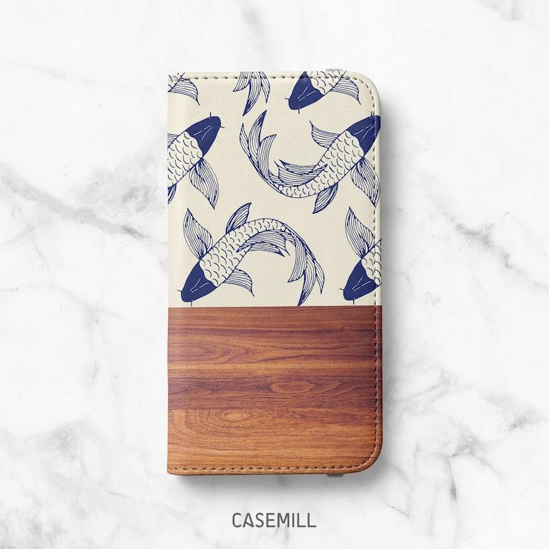 Wabi-Sabi Wood Print iPhone 12 Wallet iPhone 11 Wallet iPhone image 0