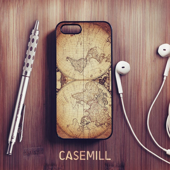 World Map Iphone 6s Case.Vintage World Map Iphone 6 Case Vintage Iphone 6s Case Iphone Etsy