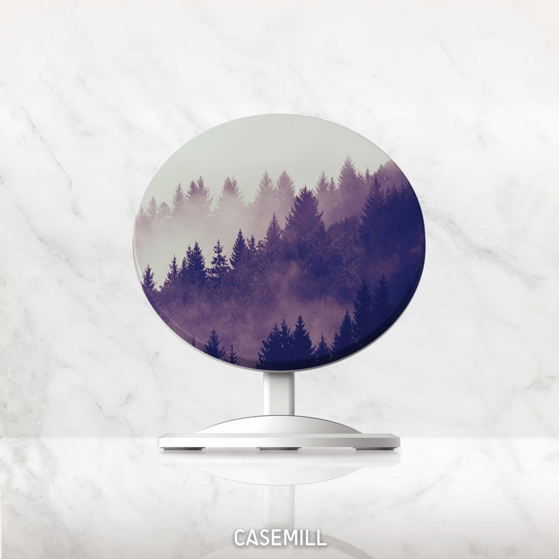 Wireless Charger Forest QI Charger Charging Stand for image 0