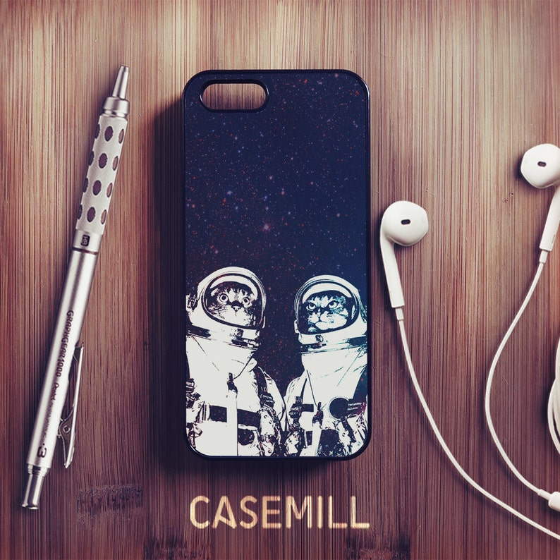 Cat Astronaut iPhone XR Case iPhone XS Case iPhone 8 Plus Case image 0