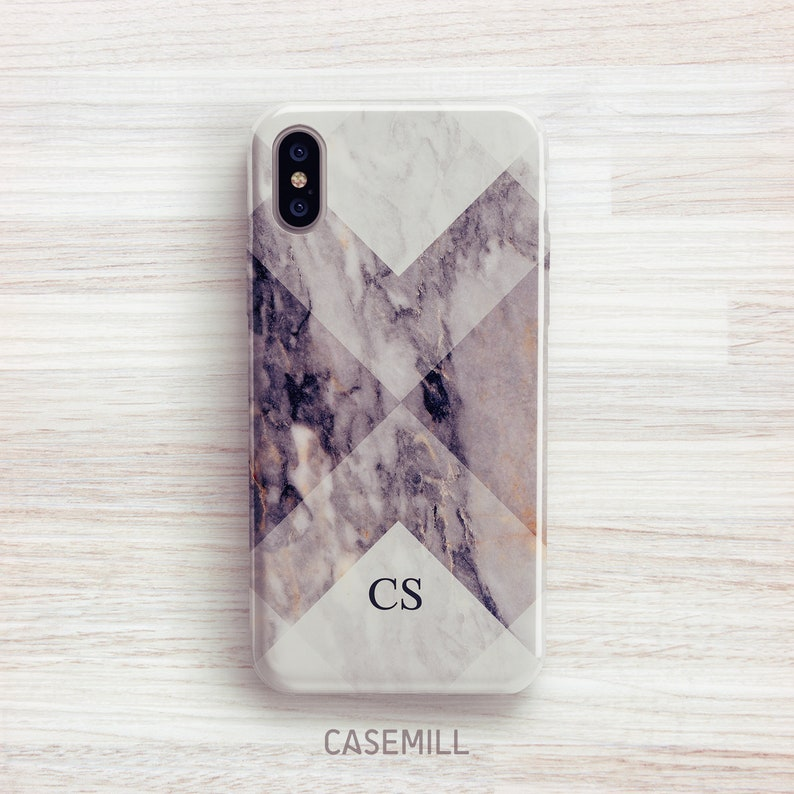 Marble Personalized iPhone 8 Case iPhone 7 Case iPhone 8 Plus image 0