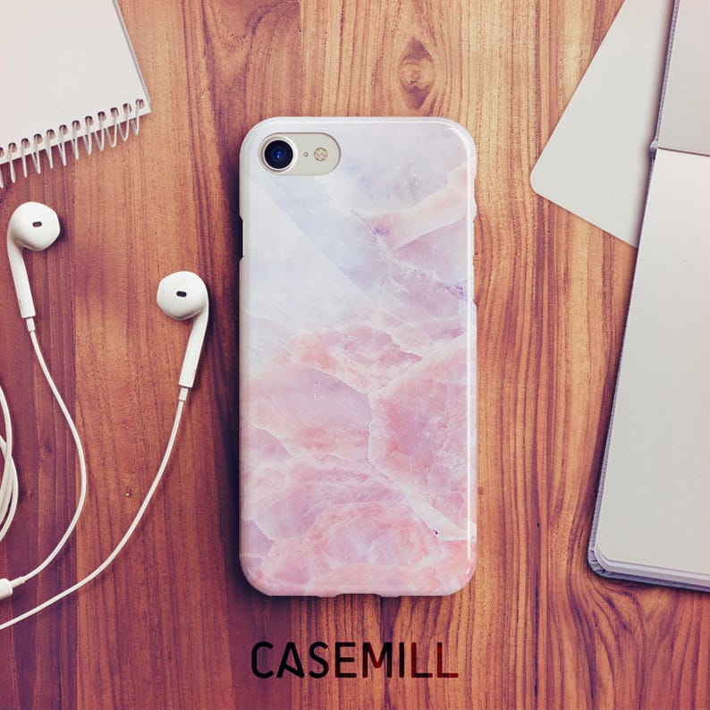 Soft Marble iPhone 7 Case iPhone 8 Case iPhone X Case iPhone 7 image 0