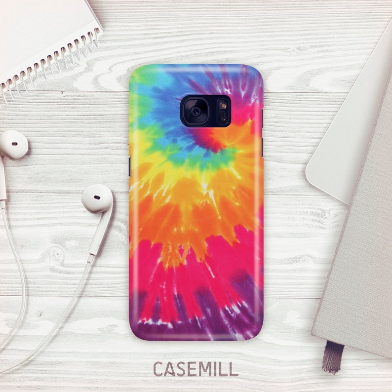 Tie-Dye Case For Samsung Galaxy S9 Rainbow Case For Samsung image 0