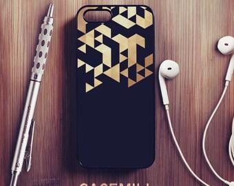 Or géométrique iPhone 6 cas géométriques iPhone 6 s Case iPhone 6 Case Plus iPhone 6 s Case Plus iPhone 5 s Case iPhone 5 cas pour iPhone SE