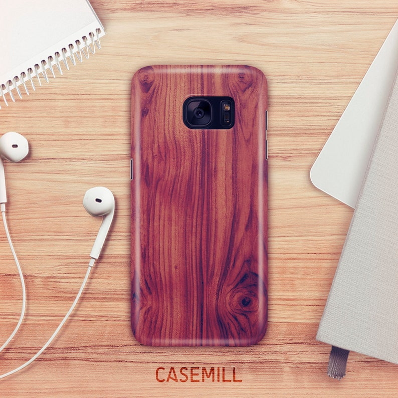 Wood Print Case For Samsung Galaxy S9 Wood Grain Print Case image 0
