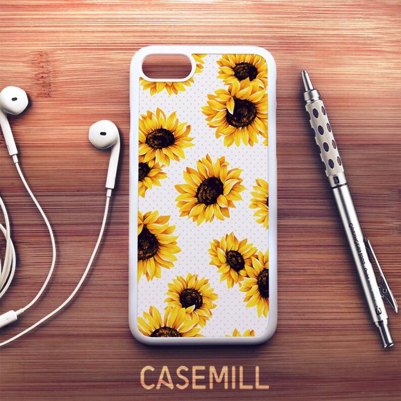 Sunflower iPhone 8 Case Sunflower iPhone 7 Case Sunflower image 0
