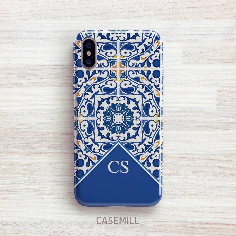 Portuguese Tile Personalized iPhone 8 Case iPhone 7 Case image 0
