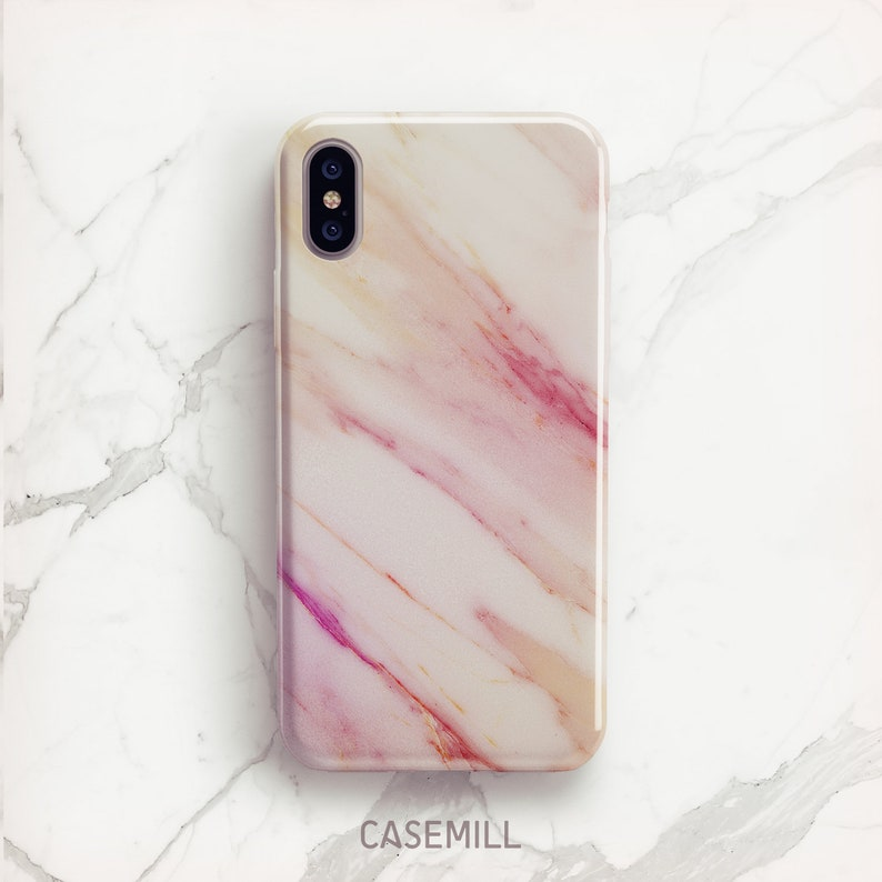 Marble iPhone 7 Case iPhone 8 Case Marble iPhone X Case iPhone image 0
