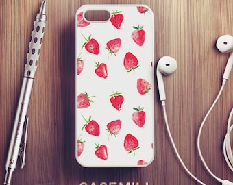 Strawberry Pattern iPhone 6 Case iPhone 6s Case iPhone 6 Plus Case iPhone 6s Plus Case iPhone 5s Case iPhone 5 Case iPhone SE Case