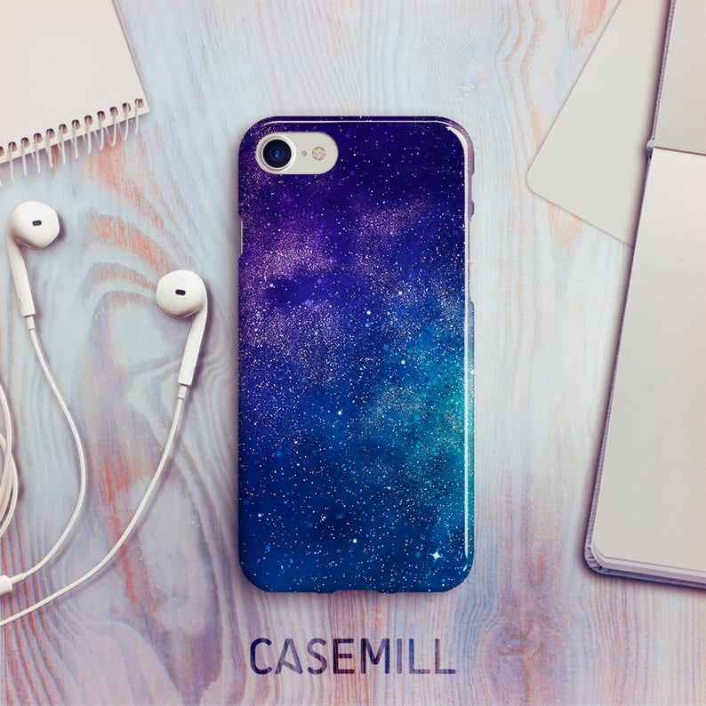 Space Nebula iPhone 7 Case iPhone 8 Case iPhone X Case iPhone image 0