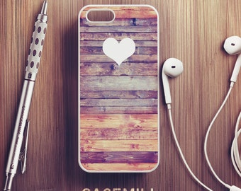 Wooden Heart iPhone 6 Case Wood iPhone 6s Case iPhone 6 Plus Case iPhone 6s Plus Case iPhone 5s Case iPhone 5 Case iPhone SE Case