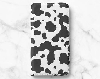 Cow Print iPhone 12 Wallet iPhone 12 Pro iPhone 11 Wallet iPhone SE Wallet iPhone XR Wallet iPhone 8 Wallet iPhone XS Wallet iPhone 8 Plus