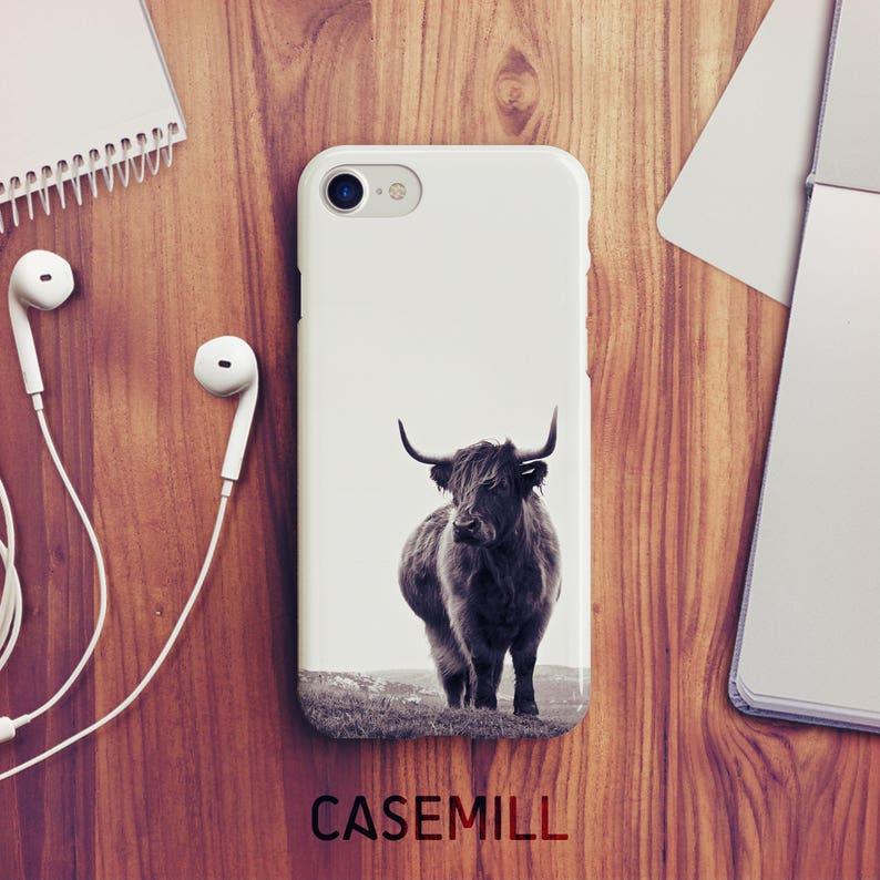 Highland Cow iPhone 7 Case Highland Cow iPhone 8 Case iPhone X image 0