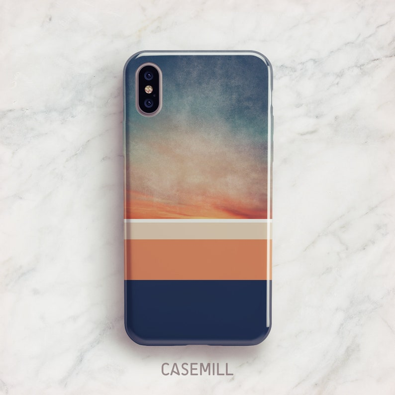 Stripe Sky iPhone 7 Case iPhone 8 Case iPhone X Case iPhone 7 image 0