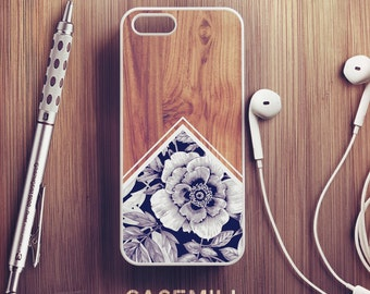 Wood Floral iPhone 6 Case iPhone 6s Case iPhone 6 Plus Case iPhone 6s Plus Case iPhone 5s Case iPhone 5 Case iPhone SE Case