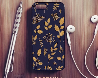 Gold Floral iPhone 6 Case Floral iPhone 6s Case iPhone 6 Plus Case iPhone 6s Plus Case Floral iPhone 5s Case iPhone 5 Case iPhone SE Case