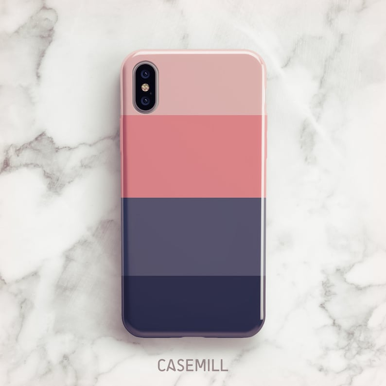 on sale 6aca6 a2b0f Pink Stripe iPhone 7 Case iPhone 8 Case iPhone X Case iPhone 7 Plus Case  iPhone SE Case iPhone 8 Plus Case iPhone 6s Case iPhone XS Case