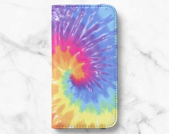 Rainbow Tie-Dye iPhone 12 Wallet iPhone 11 Wallet iPhone SE Wallet iPhone XR Wallet iPhone 8 Wallet iPhone XS Wallet iPhone 8 Plus