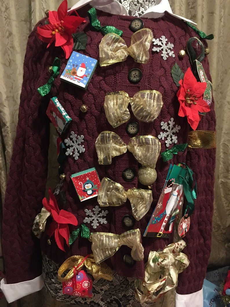 Tacky Christmas sweater large