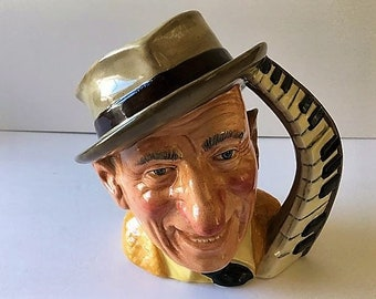 Vintage 1999 SCARECROW Wizard of Oz ENESCO Character Mug Toby Jug ~ Ray Bolger ~ MGM Movie ~ Mint Condition ~ L Frank Baum ~ Oz Collectible