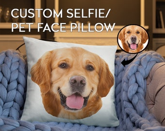811a87278913 Custom Dog Face Pillow - Custom Dog Pillow - Custom Pet Pillow - Pet Pillow  - Dog Pillow - Dog Gift - Funny Gift - Funny Pillow - Custom Pet