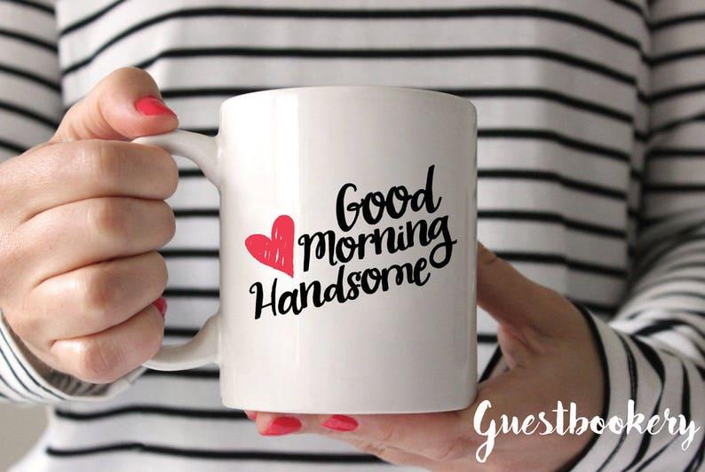 Guten Morgen Schön Kaffeebecher Schönen Guten Morgen Guten Morgen Becher Jahrestagsgeschenk Jubiläum Kaffeebecher Süßen Becher
