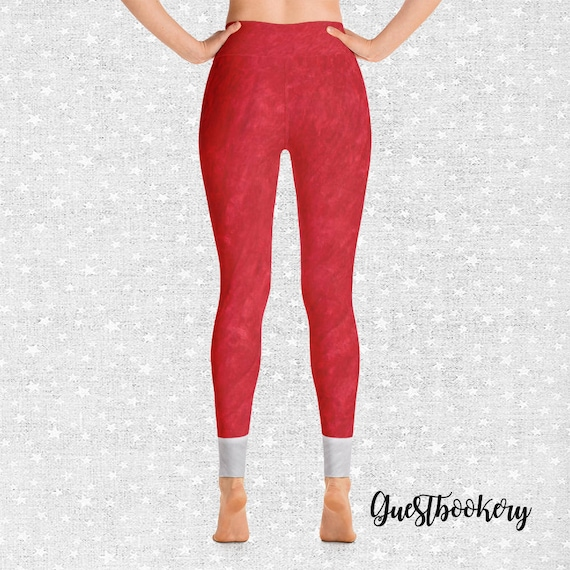 Santa S Yoga Pants Santa Yoga Pants Christmas Yoga Pants Christmas Leggings Santa S Leggings Yoga Pants Leggings Christmas Gift