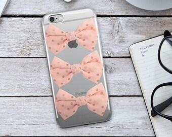 Pink Bow iPhone Case - Pink Bow Phone Case - Pink iPhone Case - Pink Bow - iPhone 7 Case - iPhone 6 Case - iPhone Case