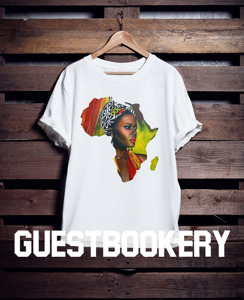 6a9df36450496 African Woman T-shirt African Clothing African Graphic